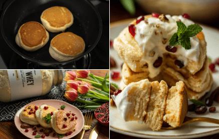 Web - Fitness recept: Fluffy souffle pancakes